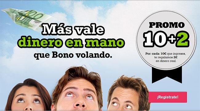 promo juegging bono 120€