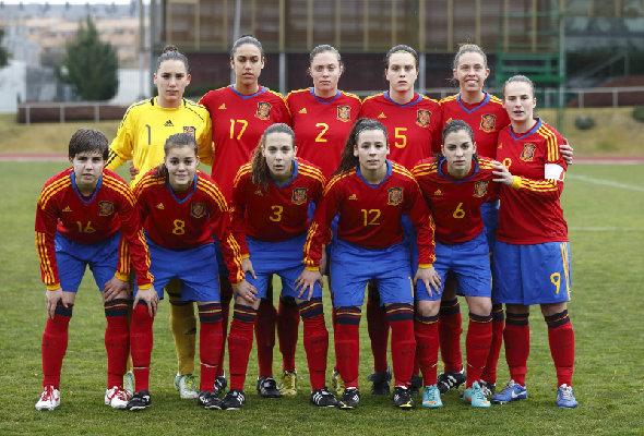 Irlanda vs España (Sub19 Femenino)