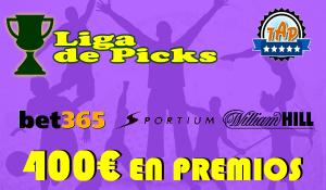 Liga Picks. 400€ en premios todos los meses por poner tus pronósticos en nuestro foro