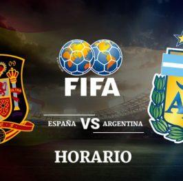 Apuesta Selecciones: España vs. Argentina