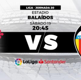 Partido de Fútbol Liga Santander Celta de Vigo vs Valencia