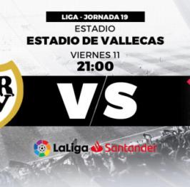 Partido de Fútbol Liga Santander Rayo Vallecano vs Celta de Vigo
