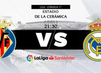 Apuesta Fútbol La Liga Santander Villareal vs Real Madrid