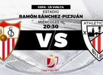 Partido de Fútbol Copa del Rey Sevilla vs Athletic de Bilbao