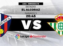Apuesta Fútbol La Liga Santander Huesca vs Real Betis