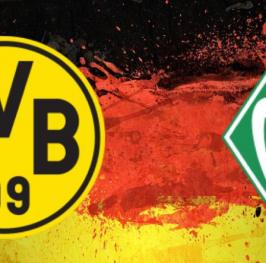Partido de Fútbol Copa Alemana Borussia Dortmund vs Werder Bremen