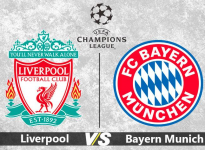 Partido de Fútbol Champions League Liverpool vs Bayern Munich