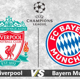 Partido de Fútbol Champions League Liverpool vs Bayern Munich