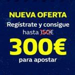 300€ Gratis, Mejor bono del mercado ahora mismo con nosotros