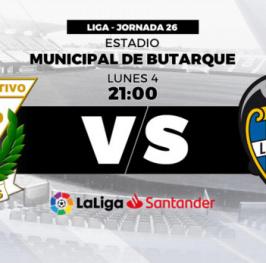 Apuesta de Fútbol Liga Santander Leganés vs Levante