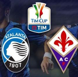 Partido de Fútbol Coppa Italia Atalanta vs Fiorentina