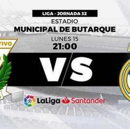 Partido de Fútbol Liga Santander Leganes vs Real Madrid