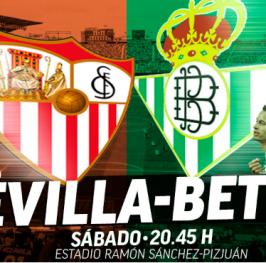 Partido de Fútbol Liga Santander Sevilla vs Betis