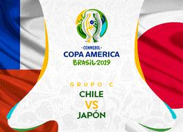 Japón – Chile. Fútbol. Copa América.