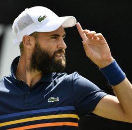 Benoit Paire – Jiri Vesely. Tenis. Wimbledon.